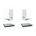 C4U-2V1LAOC2406n Up to 2km 2.4Ghz WIFI Data link with 1 phone line