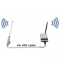 AOU-2410 & AR-3000 Kit - Outdoor USB 2.4Ghz 1W & Indoor Router 500mW