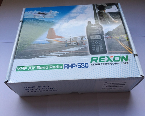 REXON RHP-530 Air-Band Radio with optional VOR and Bluetooth