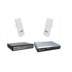 C4U-2V4LAOC2406n Up to 2km WIFI Data link for 4 phone lines and internet