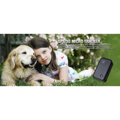 SANAV MU201S1 Small Pets Aset GPS Tracker with battery 1120mAh